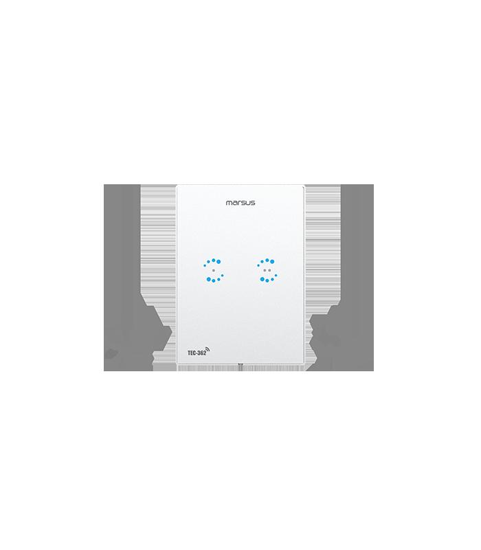 کلید برق روشنایی دیجیتال تاچ دو پل مرصوص TEC 362